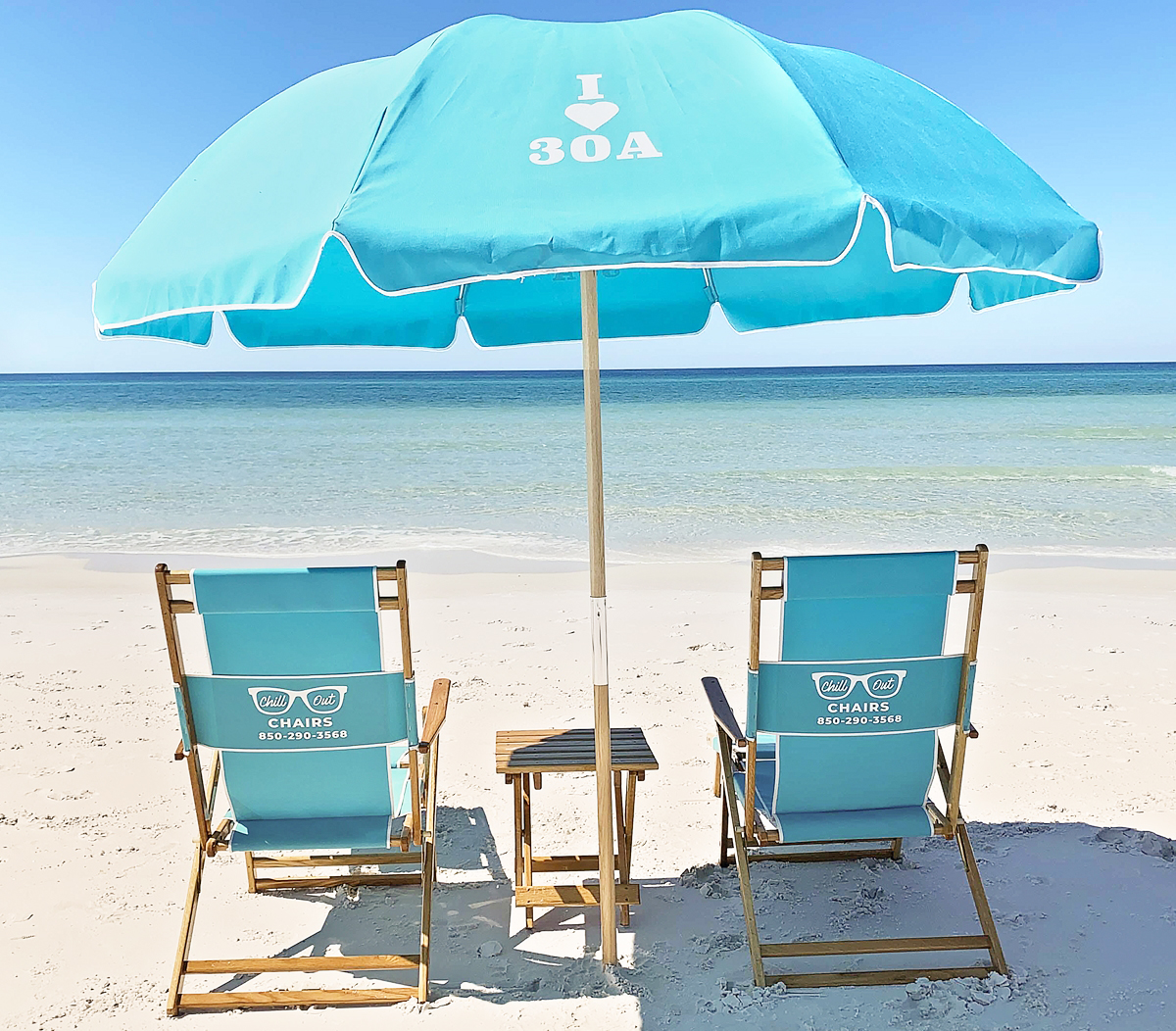 30A Beach Chair Rentals