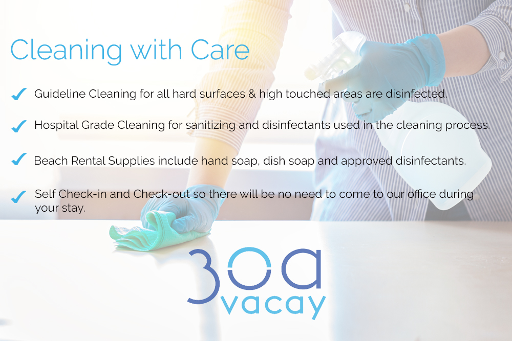 30A Vacay Cleaning with Care
